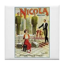 Nicola Prince of Magic Tile Coaster
