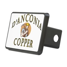 d'Anconia Copper Retro Miner Hitch Cover