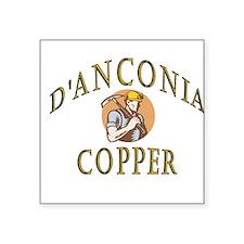 d'Anconia Copper Retro Miner Sticker