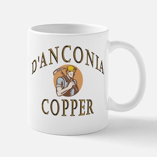 d'Anconia Copper Retro Miner Mug