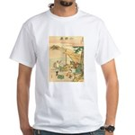 Japanese illustration White T-Shirt