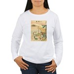 Japanese illustration Women's Long Sleeve T-Shirt