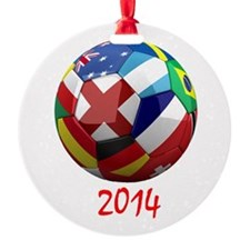 2014 Soccerball.png Ornament