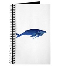 Humpback Whale Mom and Baby 2 Journal