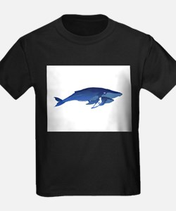 Humpback Whale Mom and Baby 2 T-Shirt