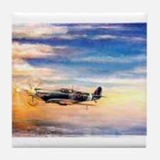 SPITFIRE ART Tile Coaster
