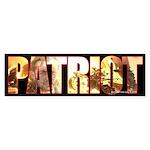 True Patriot Bumper Sticker