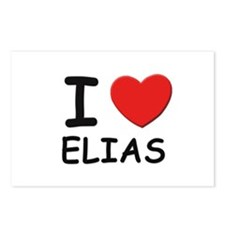 I love Elias Postcards (Package of 8)