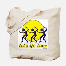 Lets Go Lime Tote Bag