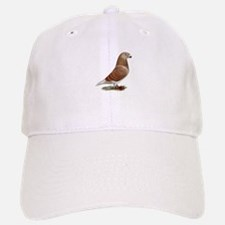 Show Racer Red Check Pigeon Cap