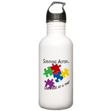 Surviving Autism Water Bottle