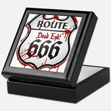 Route 666 Keepsake Box