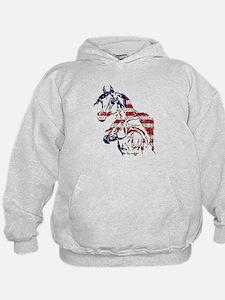 Patriotic Arabians Hoodie