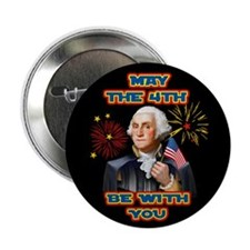 """May the4th Be With You 2.25"""" Button (100 pack)"""
