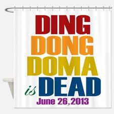Ding Dong Doma's Dead Shower Curtain