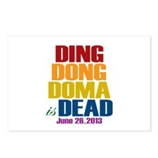 Ding Dong Doma's Dead Postcards (Package of 8)