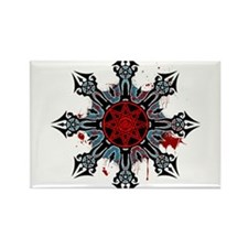 Cross of Chaos Rectangle Magnet