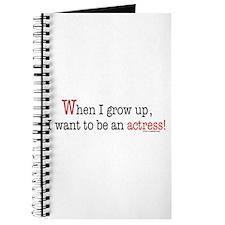 ... an actress Journal