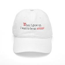 ... an actress Baseball Cap