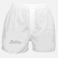 ... an actress Boxer Shorts