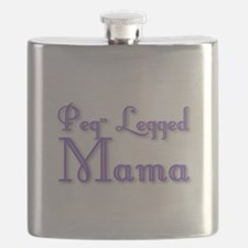 Peg-Legged Mama Flask
