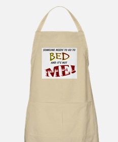 OMG It's Not Bed Time Apron