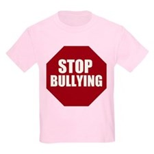 Stop Bullying Stop Sign T-Shirt