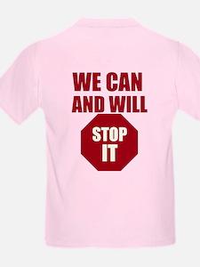 Stop Bullying Stop Sign T-Shirt
