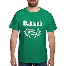 Oakland - Knuckle Crest T-Shirt