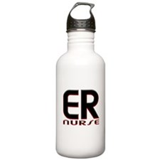 EMERGENCY NURSE 2 RED Water Bottle