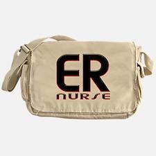 EMERGENCY NURSE 2 RED Messenger Bag