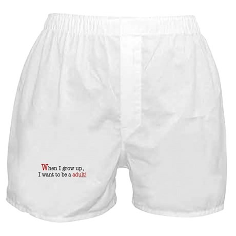 ... an adult Boxer Shorts