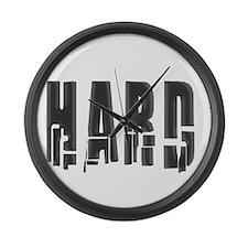 Hard Large Wall Clock