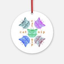Kitties hours Ornament (Round)