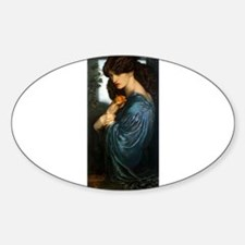 Proserpine by Rossetti Decal