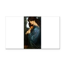 Proserpine by Rossetti Rectangle Car Magnet