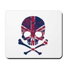Union Jack Skull Mousepad