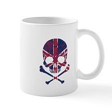 Union Jack Skull Mug
