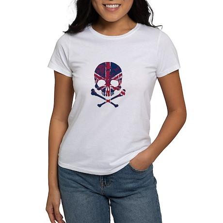 Union Jack Skull T-Shirt
