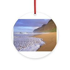 Polihale Beach - Kauai, Hawaii Ornament (Round)