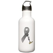 Amputee Ribbon Water Bottle