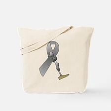 Amputee Ribbon Tote Bag