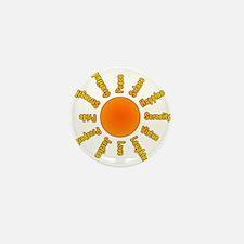 Positivity Sun Mini Button