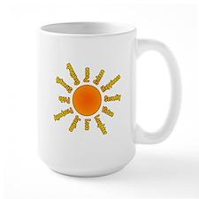 Positivity Sun Mug