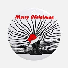 Merry Christnas Ornament (Round)