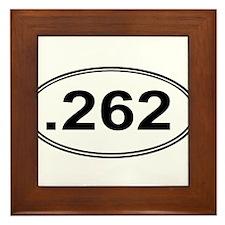.262 Miles Framed Tile