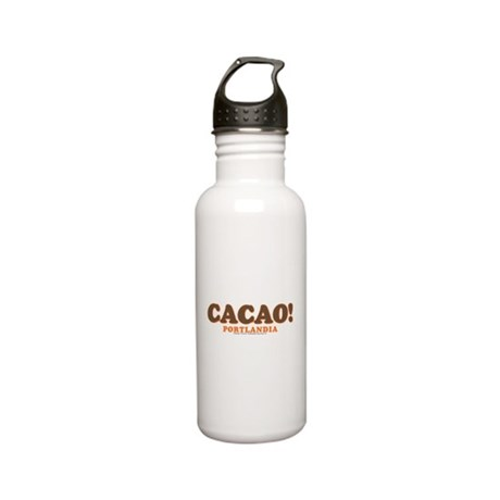 Portlandia Cacao Stainless Steel Water Bottle