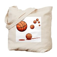 Basketball Tote Bag
