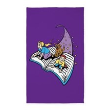 Kids library or reading corner 3'x5' Area Rug