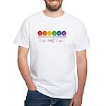 gay pride barcode White T-Shirt